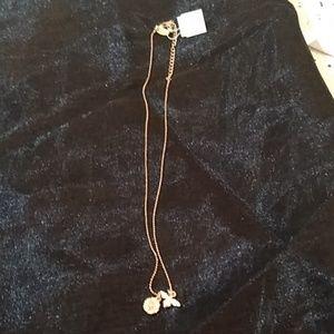 Lia Sophia necklace, gold